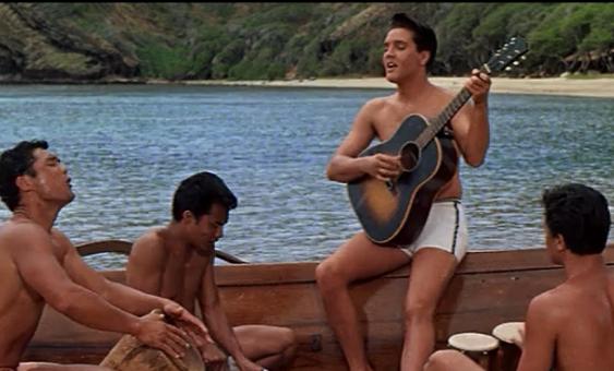 Elvis Meets Lani Kai and The Surfers
