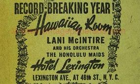 """NYC's """"Hawaiian Room"""""""